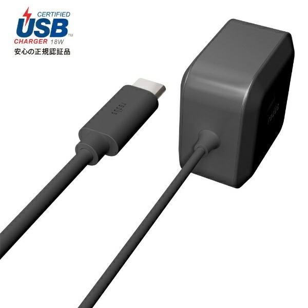 ラディウスradiusUSB-PD対応USB-C直結ACアダプター1.2mRK-UPD18KRK-UPD18Kブラック[1.2m]