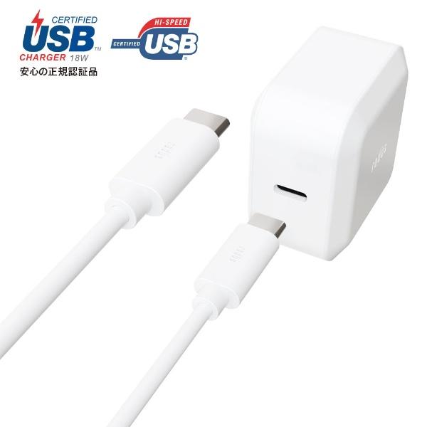ラディウスradiusUSB-PD対応USB-C分離ACアダプターType-CCable1.0m付属RK-UPA18WRK-UPA18Wホワイト[1.0m/USBPowerDelivery対応]