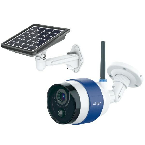 キャロットシステムズソーラーバッテリーWi-FiカメラAT740