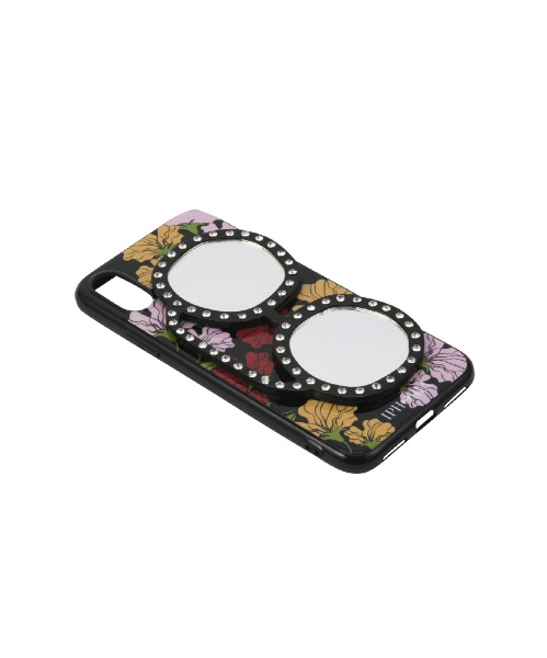 IPHORIAアイフォリアFloralLoveWithGlassesforiPhoneX/XSフローラルラヴウィズグラッシーズ16232