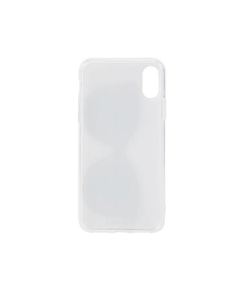 IPHORIAアイフォリアSilverStripLoveWithGlassesforiPhoneX/XSシルバーストライプラヴウィズグラッシーズ16235