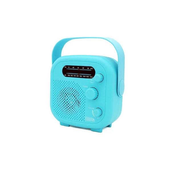 ヤザワYAZAWAシャワーラジオブルーSHR02BL[SHR02BL]