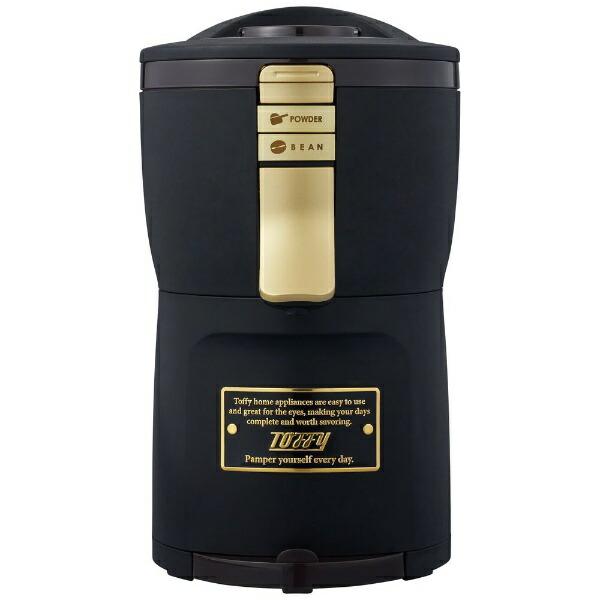 ラドンナLADONNA全自動コーヒーメーカーTOFFYRICHBLACKK-CM7-RB[全自動/ミル付き][KCM7]