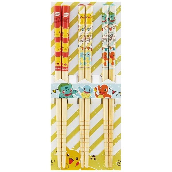 スケーターSkater竹箸3P16.5cmポケットモンスターANT2T[ANT2T]