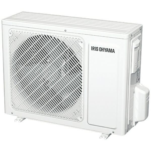 アイリスオーヤマIRISOHYAMA【標準工事費込み】エアコン2019年airwill(エアウィル)GXシリーズホワイトIRR-2219GX-W[おもに6畳用/100V][IRR2219GX+IUF2219GX]
