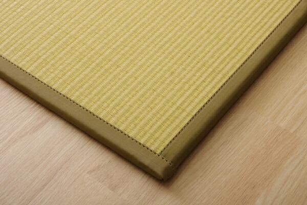 イケヒコIKEHIKOユニット畳スカッシュBEU畳6枚セット(日本製/82×82×1.7cm/連結ジョイント付き)