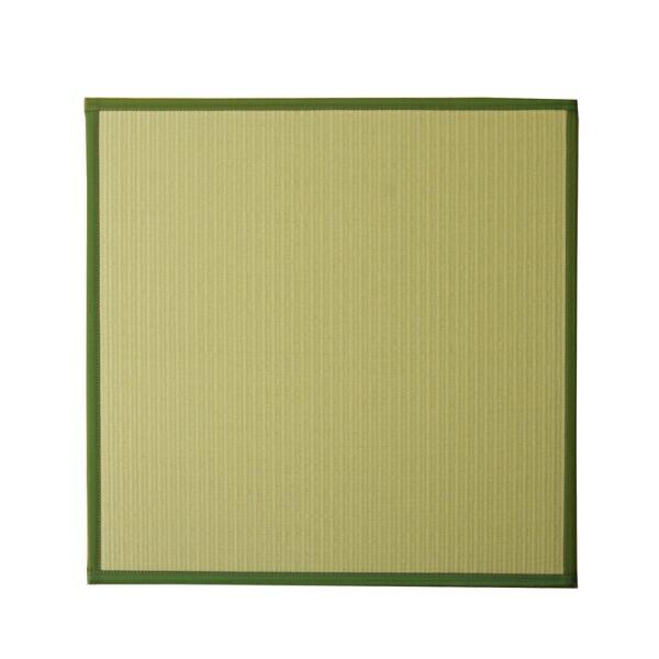 イケヒコIKEHIKOユニット畳スカッシュGNU畳9枚セット(日本製/82×82×1.7cm/連結ジョイント付き)