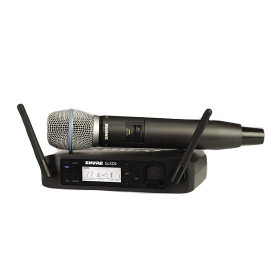 SHUREシュアーGLX-Dハンドヘルド・ワイヤレスシステム(BETA87ハンドヘルドマイク)GLXD24J/BETA87A