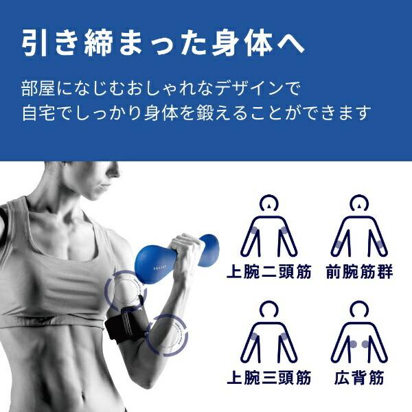 エレコムELECOMエクリアスポーツスリムダンベル(2kg/ブルー)HCF-DBS20BU