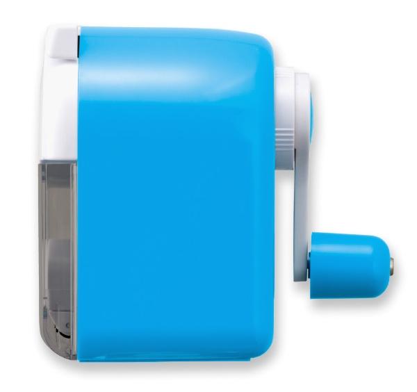 アスカASKAえんぴつけずりきローラークリーナーつきPS80Bブルー