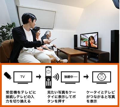 auエーユー【au純正】テレビde写真受信機0603RKA