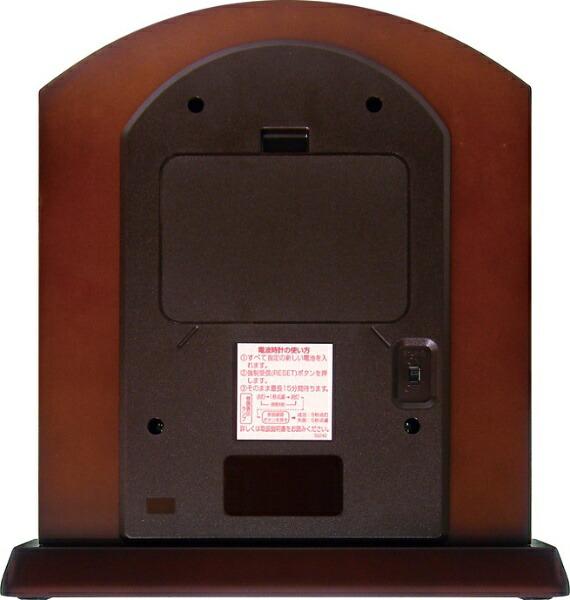 シチズンCITIZEN置き時計茶色4RY702-N06[電波自動受信機能有]