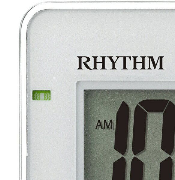 リズム時計RHYTHM目覚まし時計【フィットウェーブD211】8RZ211SR03[デジタル/電波自動受信機能有]