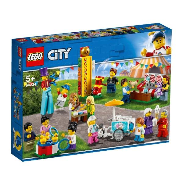 レゴジャパンLEGO60234シティミニフィグセット-楽しいお祭り[レゴブロック]