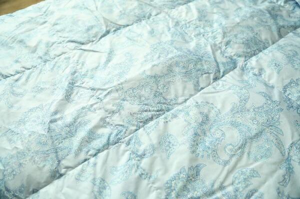 メルクロスMERCROSウォッシャブルダウンケット[シングル(150×210cm)/夏用/ホワイトダックダウン50%/ブルー]
