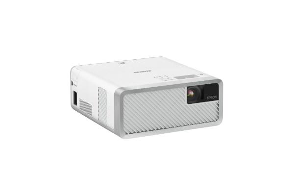 エプソンEPSONホームプロジェクターEF-100Wホワイト[EF100W]