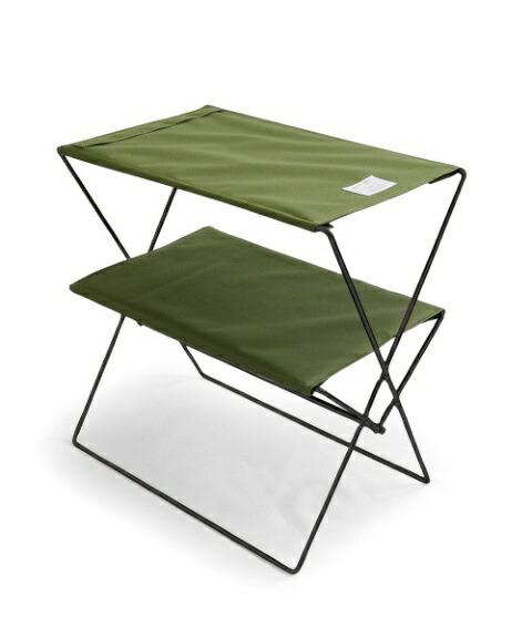 bclビーシーエルbclオリジナルフォールディングテーブル(オリーブ/W50×D30×H55cm)127971[1〜2人向け]