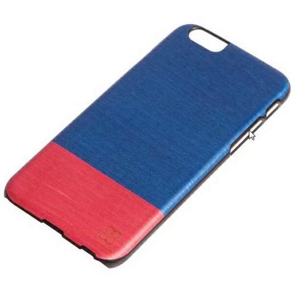 ROAロアiPhone6Plus天然木ケースMidnightfeverブラックフレーム