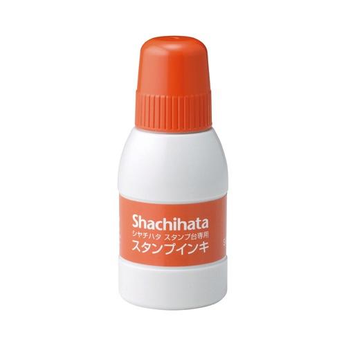 シヤチハタShachihataシャチハタスタンプ台専用インキ小瓶朱40mlSGN-40-OR[SGN40OR]