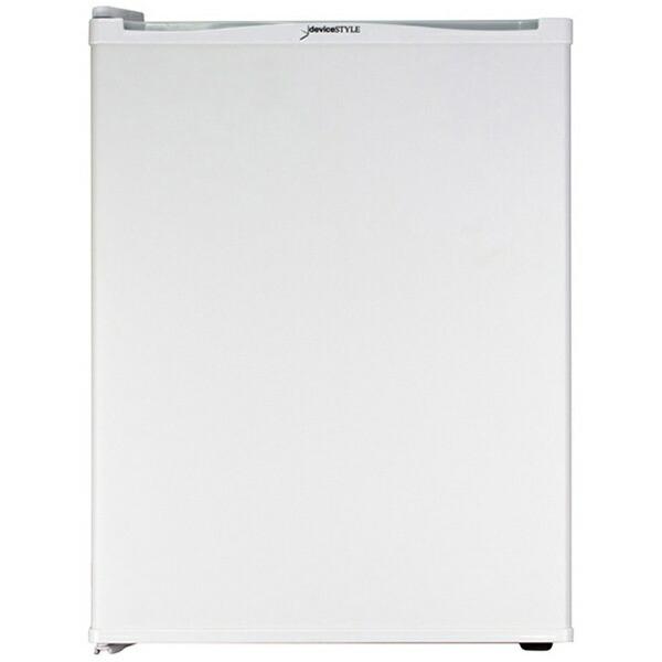デバイスタイルdeviceSTYLE《基本設置料金セット》RA-P32L-W冷蔵庫ホワイト[1ドア/左開きタイプ/32L][冷蔵庫小型一人暮らし静音RAP32LW]【zero_emi】