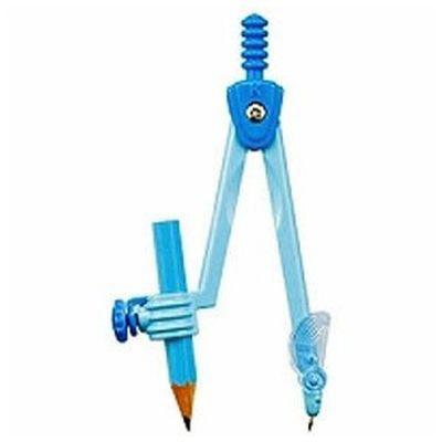 クツワKUTSUWAコンパス鉛筆用ライトブルー