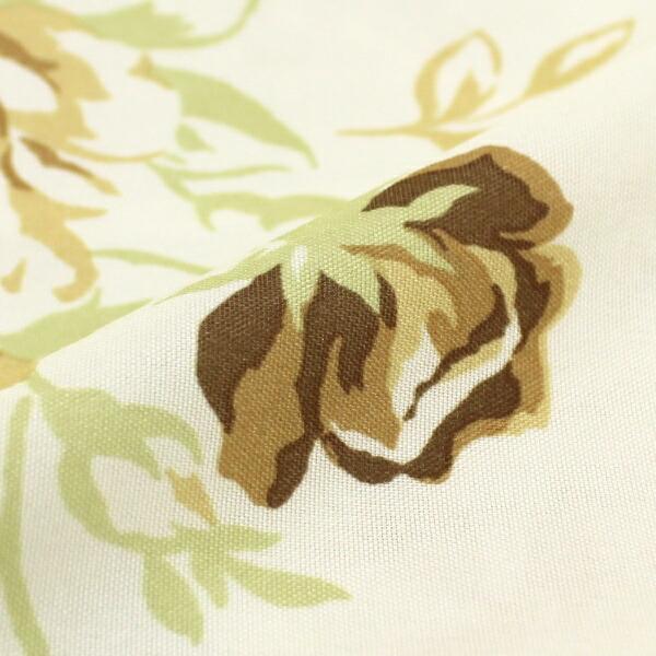 小栗OGURI【まくらカバー】フラワーローズ柄標準サイズ(ポリエステル100%/43×63cm)