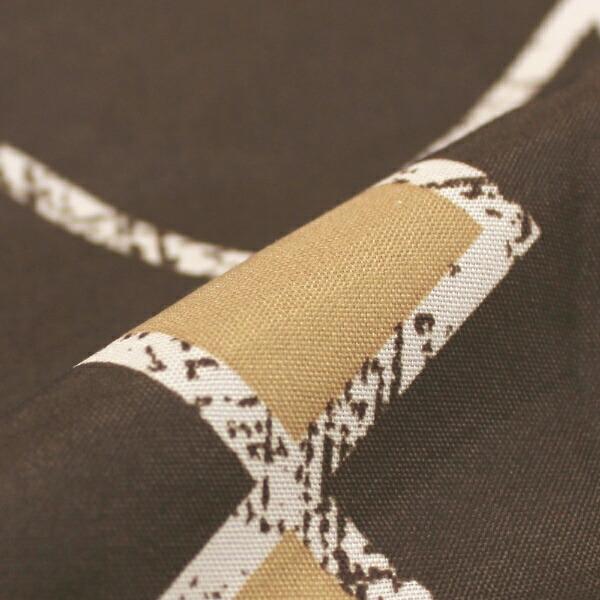 小栗OGURI【まくらカバー】幾何柄ソイル標準サイズ(ポリエステル100%/43×63cm)