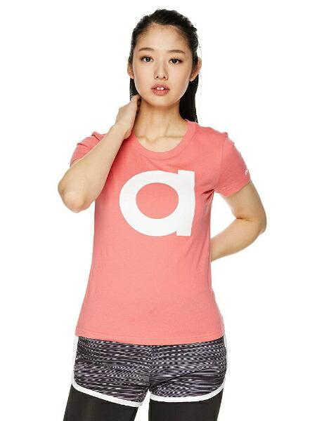 アディダスadidasトレーニングウェア半袖aTシャツレディースSサイズ(プリズムピンクF13/ホワイト)FRU64