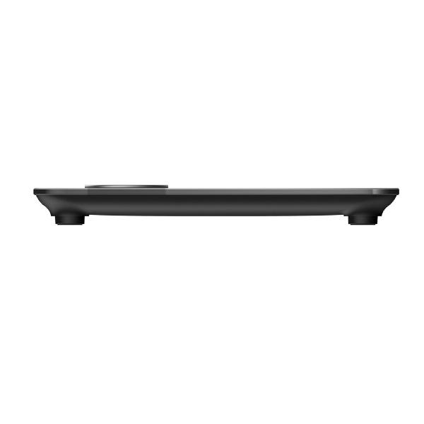 FitbitフィットビットFB202BK-JP体重計スマート体重計Aria2WiFi/Bluetooth対応ブラック[デジタル][体重計体脂肪計スマホ連動FB202BKJP]
