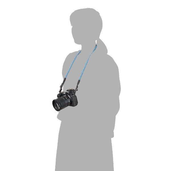 ハクバHAKUBA【ビックカメラグループオリジナル】クライミングロープカメラストラップ革ヒモタイプメッシュベネチアンBKST-CRLTMSVTメッシュベネチアン【point_rb】