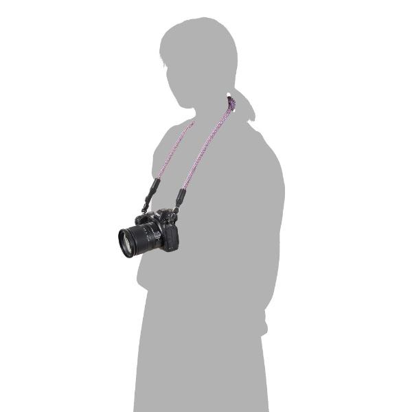 ハクバHAKUBA【ビックカメラグループオリジナル】クライミングロープカメラストラップ革ヒモタイプメッシュトリコロールBKST-CRLTMSTCメッシュトリコロール【point_rb】