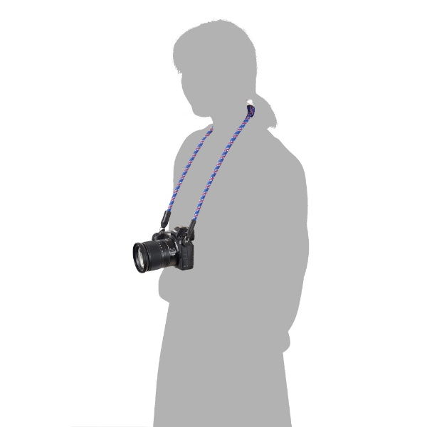 ハクバHAKUBA【ビックカメラグループオリジナル】クライミングロープカメラストラップリングタイプストライプトリコロールBKST-CRLGSTTCストライプトリコロール【point_rb】