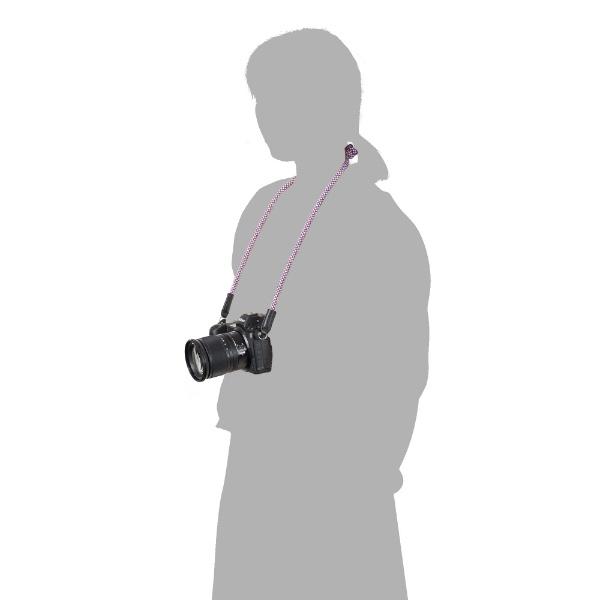 ハクバHAKUBA【ビックカメラグループオリジナル】クライミングロープカメラストラップリングタイプメッシュトリコロールBKST-CRLGMSTCメッシュトリコロール【point_rb】