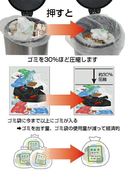 サンコーTHANKOギュギュッと圧縮ゴミ箱トラアッシュクボックスDSBNCOMP[40L][DSBNCOMP]