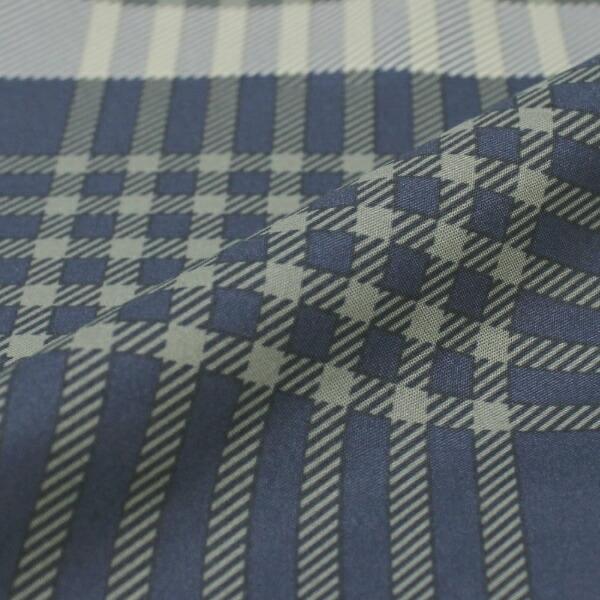小栗OGURI【まくらカバー】大柄チェック標準サイズ(ポリエステル100%/43×63cm)