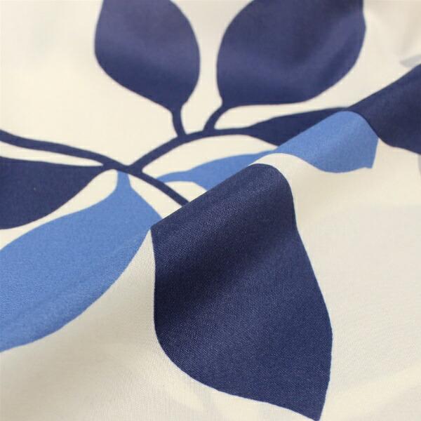 小栗【まくらカバー】シンプルリーフ柄標準サイズ(ポリエステル100%/43×63cm)