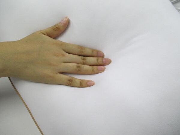 モリシタMORISHITA洗えるもっちもちまくら(60×40cm/ホワイト)