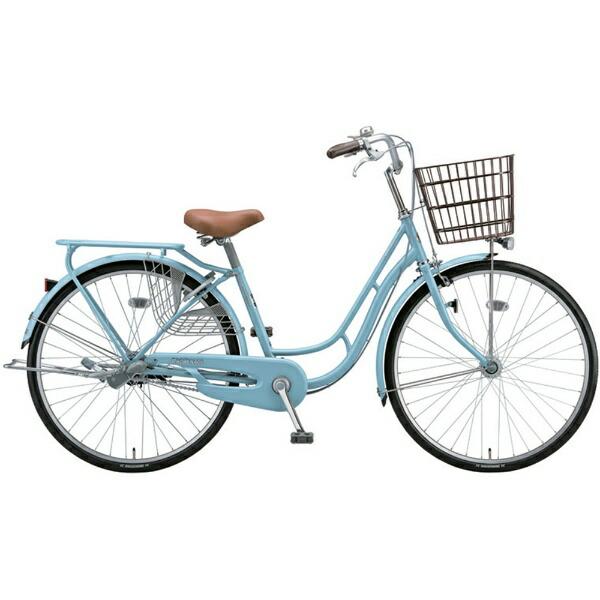 ブリヂストンBRIDGESTONE26型自転車プロムナードC(E.Xマリノブルー/シングルシフト)PR60CT【代金引換配送不可】