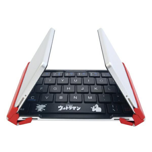 3Eスリーイー【スマホ/タブレット対応】ワイヤレスキーボード[Bluetooth・Android/iOS/Win]3つ折りタイプスタンド付(英語64キー)3E-BKY8-UL1[Bluetooth/ワイヤレス][3EBKY8UL1]