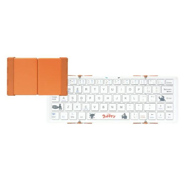 3Eスリーイー【スマホ/タブレット対応】ワイヤレスキーボード[Android/iOS/Win]3つ折りタイプスタンド付(英語64キー)3E-BKY8-UL3[Bluetooth/ワイヤレス][3EBKY8UL3]