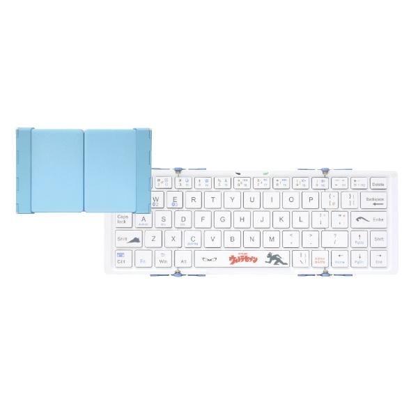 3Eスリーイー【スマホ/タブレット対応】ワイヤレスキーボード3つ折りタイプスタンド付(英語64キー)3E-BKY8-UL4[Bluetooth/ワイヤレス][3EBKY8UL4]