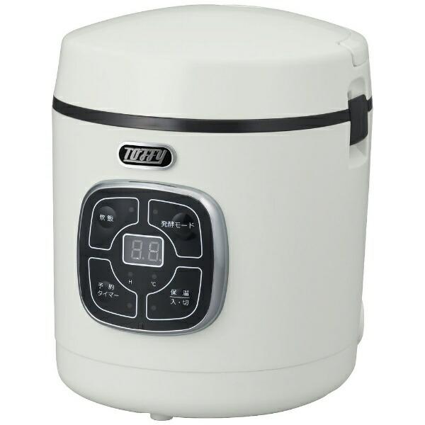 ラドンナLADONNAK-RC2-AW炊飯器Toffyマイコン炊飯器ASHWHITE[1.5合/マイコン][1.5合一人暮らしおしゃれKRC2]