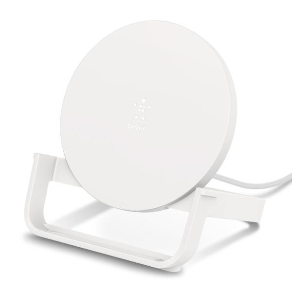 BELKINベルキンワイヤレス充電スタンド(10W)PSEホワイトF7U083JCWHT[F7U083JCWHT]