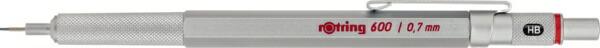 ロットリングrotring600シルバーSP/0.7mm1904444