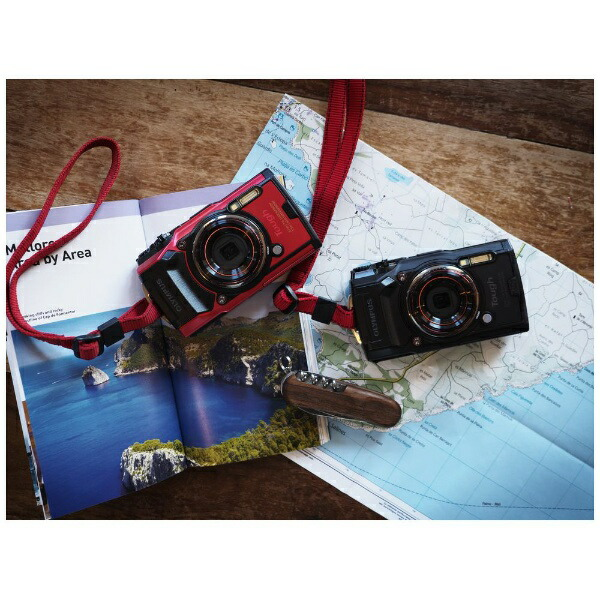 オリンパスOLYMPUSTG-6コンパクトデジタルカメラTough(タフ)ブラック[防水+防塵+耐衝撃][TG6BLK]