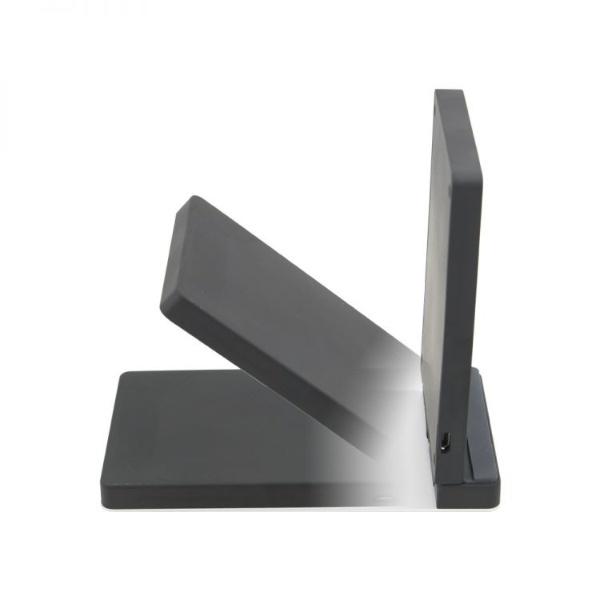 OWLTECHオウルテック卓上スタンド型Qiワイヤレス充電器QuickCharge2.0対応最大10Wで急速充電ネイビーOWL-QI10W04-NV[ワイヤレスのみ]