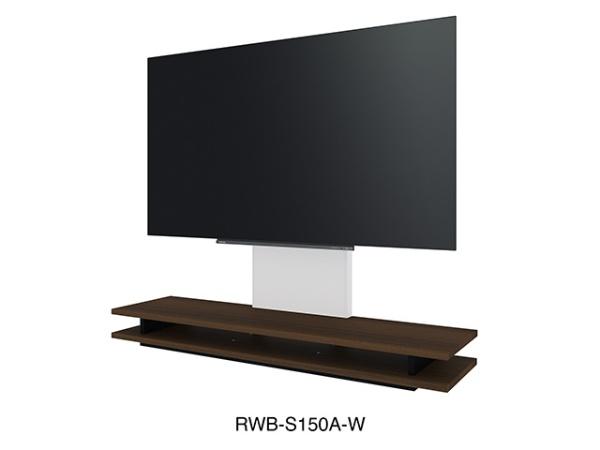 東芝TOSHIBAレグザ純正壁寄せテレビローボードウォールナットRWB-S150A-W[RWBS150AW]