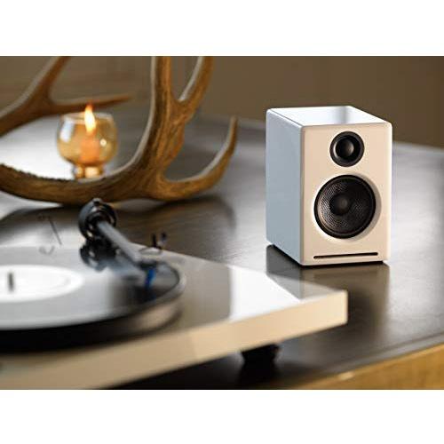 Audioengineオーディオエンジンブルートゥーススピーカーハイグロス・ホワイトペイント[Bluetooth対応][A2+WIRELESSW]