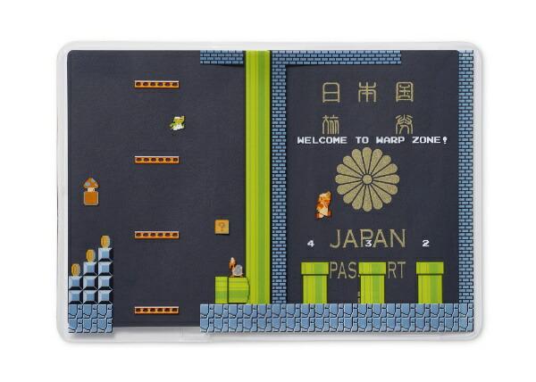 任天堂販売NintendoSalesパスポートカバースーパーマリオトラベルNSL-0069地下コース