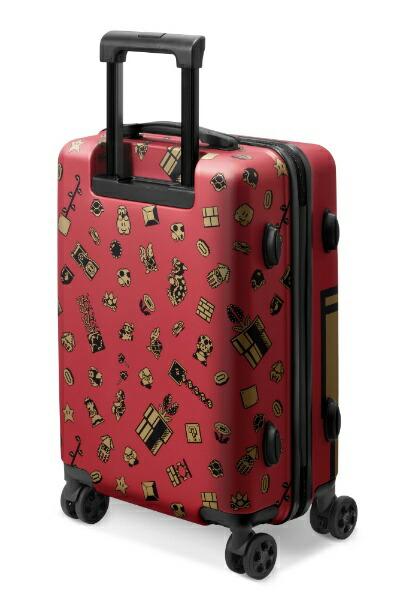 任天堂販売スーツケーススーパーマリオトラベルNSL-0072ワインレッド[35L]